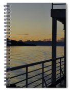 Homeward Bound On The M/v Malaspina Spiral Notebook
