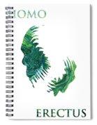 Homo Erectus 2 Spiral Notebook