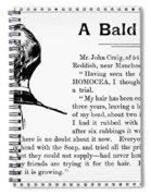 Homocea Hair Restorative Spiral Notebook
