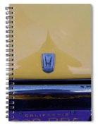 Honda Z600 Hood Medallion Spiral Notebook