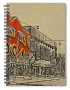 Honest Eds On Markham Street Spiral Notebook