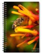 Honey Bee 4 Spiral Notebook
