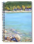 Honey Moon Beach Spiral Notebook