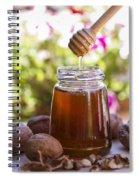 Honey Spiral Notebook