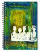 Honey... The Angels Are Here Spiral Notebook