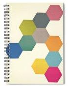 Honeycomb I Spiral Notebook