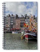 Honfleur Holiday Spiral Notebook