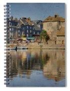 Honfleur In Normandy France Spiral Notebook