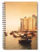 Hong Kong Harbour 02 Spiral Notebook