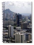 Honolulu - Diamond Head - Pacific Spiral Notebook