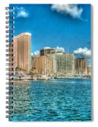 Honolulu Hi 2 Spiral Notebook