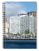 Honolulu Hi 3 Spiral Notebook