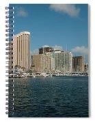 Honolulu Hi Spiral Notebook