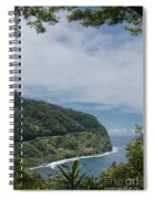 Honomanu Highway To Heaven Road To Hana Maui Hawaii Spiral Notebook