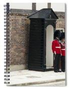 Honor Guard Spiral Notebook