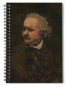 Honore Daumier Spiral Notebook