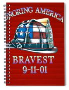 Honoring Americas Bravest From Sept 11 Spiral Notebook