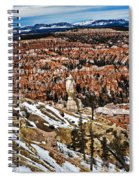Hoodoos At Bryce Spiral Notebook