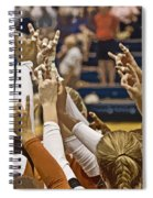 Hook 'em Horns Spiral Notebook