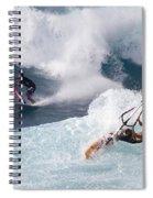 Ho'okipa Windsurfers Spiral Notebook