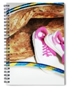 Hoola Hooping Spiral Notebook