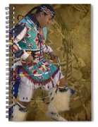 Hoop Dancer Past And Present Spiral Notebook