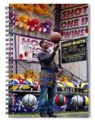 Hoop Shots Spiral Notebook