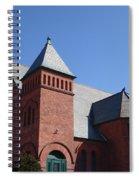 Hoosick Falls Church Spiral Notebook