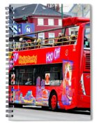 Hop On And Hop Off Bus In Bergen Spiral Notebook