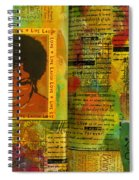 Hope And Belief Love And Laugther Spiral Notebook