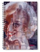 Hope And Tragedy Spiral Notebook