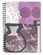 Hope- Contemporary Art Spiral Notebook
