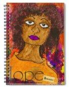 Hope For Tomorrow - Journal Art Spiral Notebook
