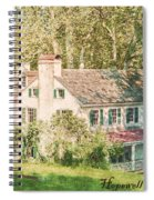 Hopewell Furnace In Pennsylvania Spiral Notebook