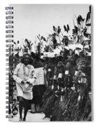 Hopi Dancers Spiral Notebook
