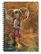 Hopi Hoop Dancer Spiral Notebook