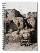 Hopi Hilltop Indian Dwelling 1920 Spiral Notebook