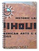 Hopihouse Sign Spiral Notebook