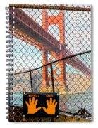 Hoppers Hands Spiral Notebook