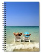Horizon Blues Spiral Notebook