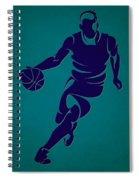 Hornets Basketball Player3 Spiral Notebook
