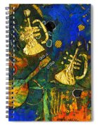 Horns And Other Things Spiral Notebook
