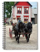 Horse And Buggy Sc3643-13 Spiral Notebook