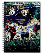 Horse And Carriage  Spiral Notebook