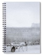 Horse And Cart Spiral Notebook