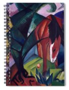 Horse And Eagle Spiral Notebook