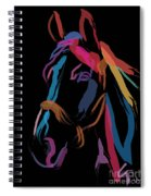 Horse-colour Me Beautiful Spiral Notebook