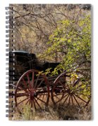 Horse-drawn Buggy Spiral Notebook