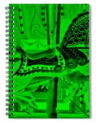 Green Horse E Spiral Notebook
