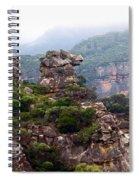 Horse Head Rock Spiral Notebook